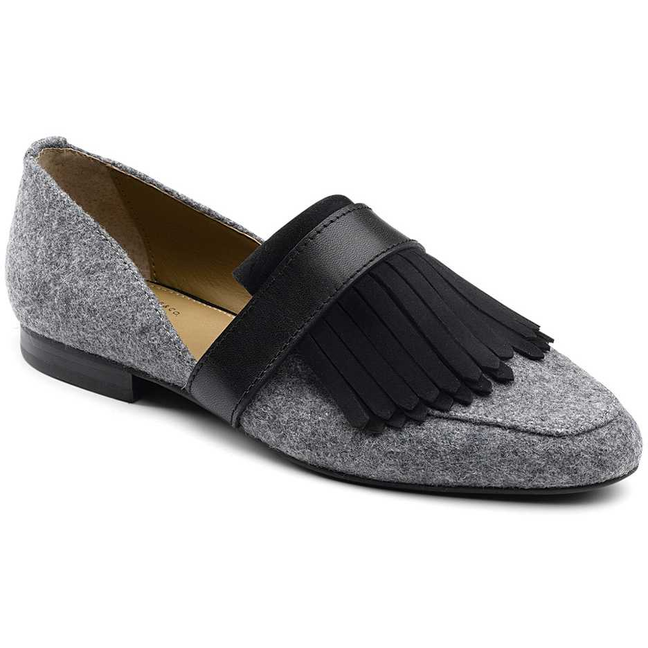 Mocasini dama Bass Harlow Grey/Black
