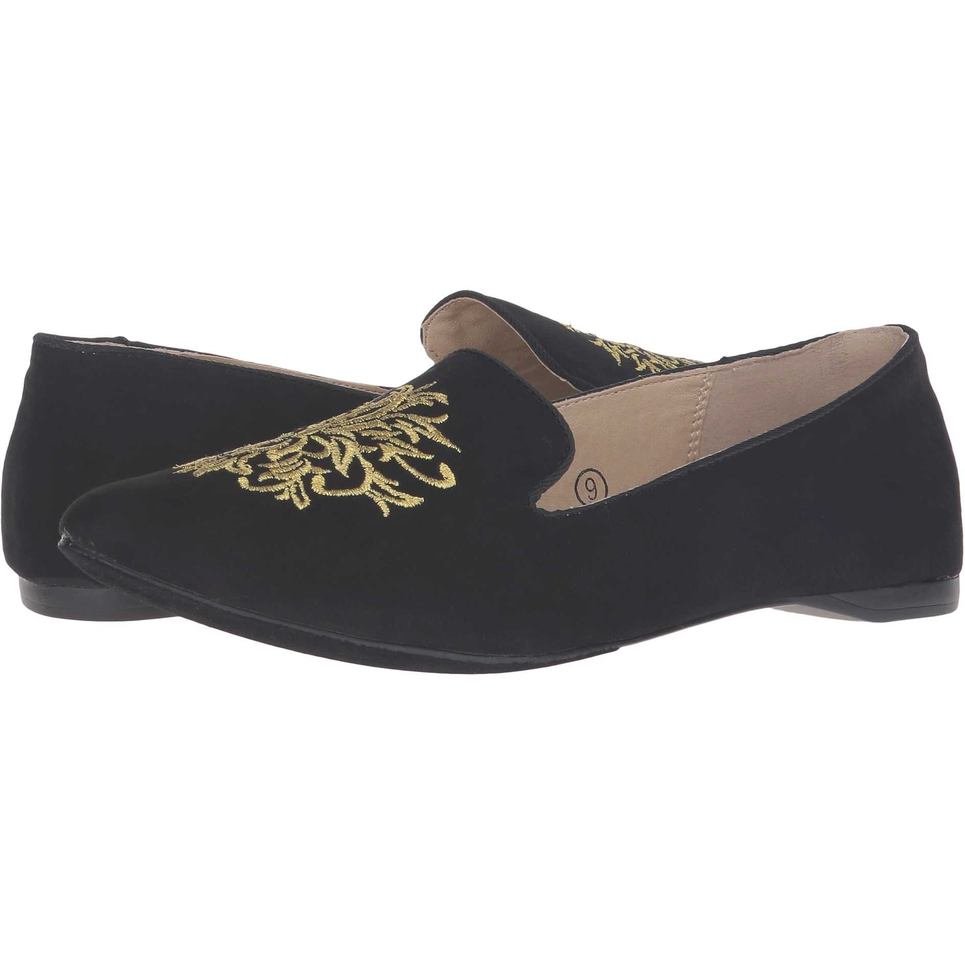 Mocasini dama C Label Paige-4 Black