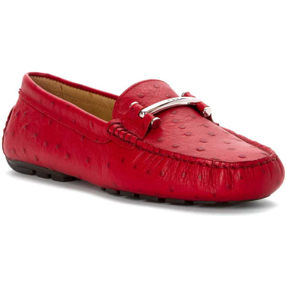 Mocasini dama LAUREN Ralph Lauren Caliana RL Bright Red