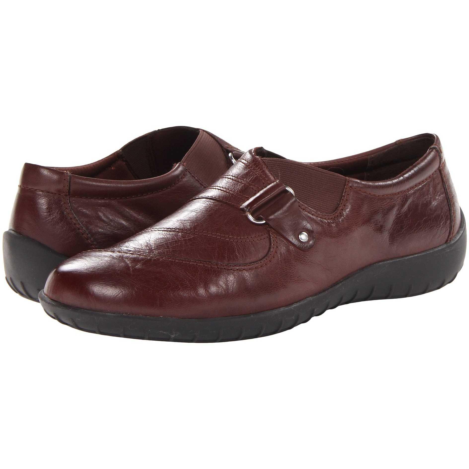 Mocasini dama Walking Cradles Claudia Tobacco Waxy Soft Leather