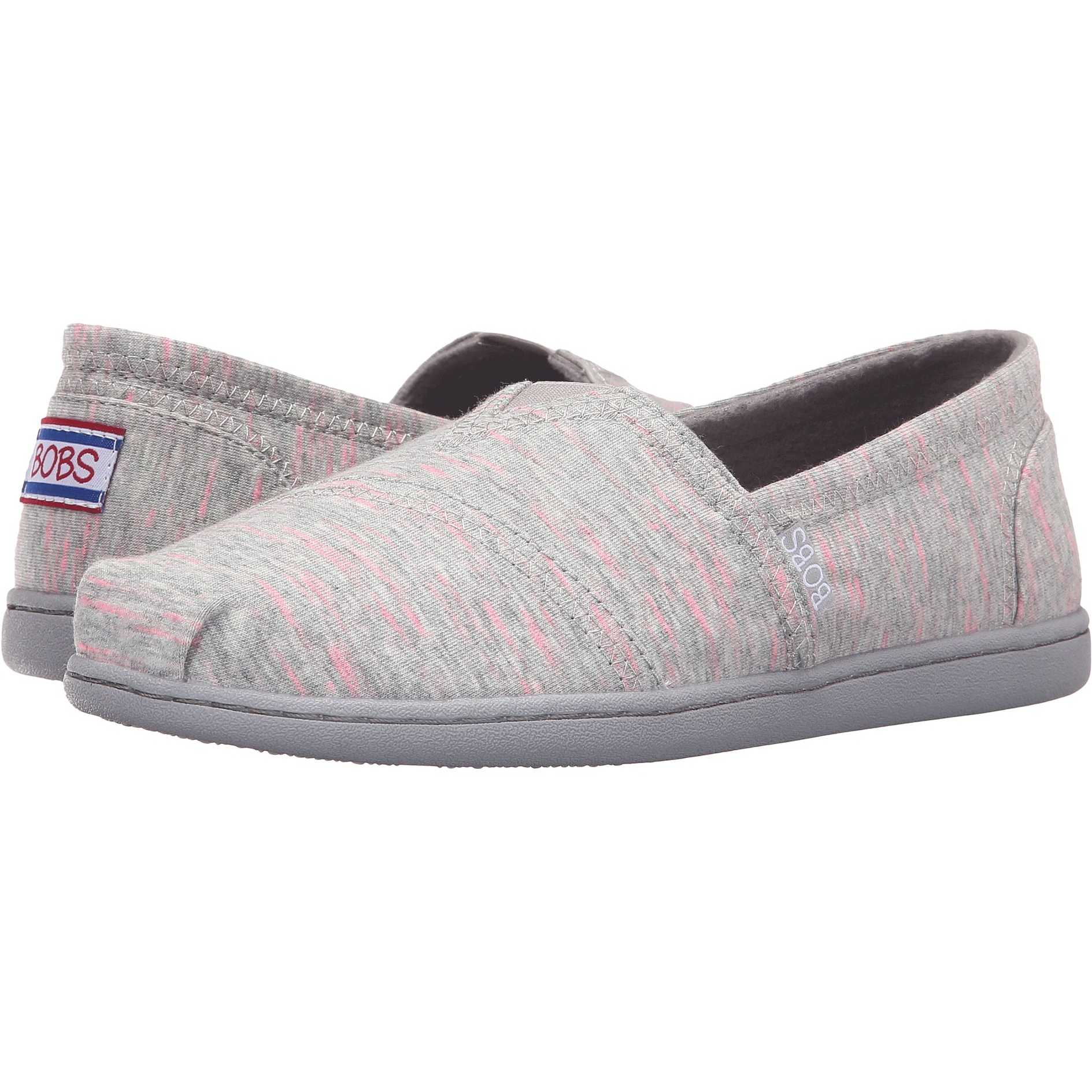 Mocasini dama BOBS from SKECHERS Bobs Bliss - Dashes Dots Gray