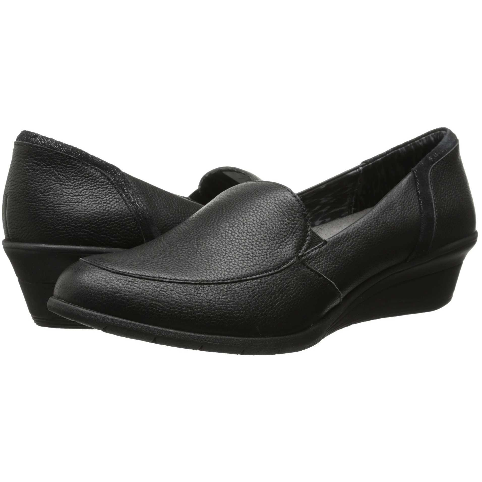 Mocasini dama Hush Puppies Lulu Ware Black Leather