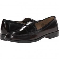 Mocasini dama Bass Casell Burgundy Leather