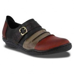 Mocasini femei Spring Step L'Artiste by Expel Slip-On Red