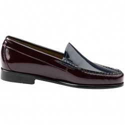 Mocasini dama Bass Westlyn Burgundy/Navy