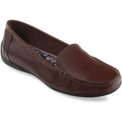 Mocasini dama Eastland Crystal Dark Walnut Leather