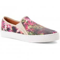 Mocasini dama Corso Como Duffy White Multi Floral Leather