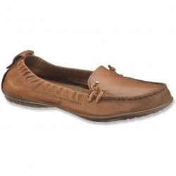 Mocasini dama Hush Puppies Ceil Slip On Tan Leather