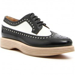 Mocasini dama Church's Opal Lace-Ups OPAL BLACK+WHITE