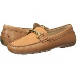 Mocasini dama LAUREN Ralph Lauren Caliana Polo Tan Soft Burnished Calf/Elko Nubuck