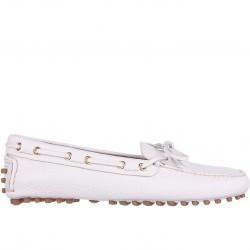 Mocasini dama Car Shoe Moccasins Beige