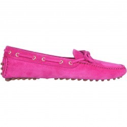 Mocasini dama Car Shoe Moccasins Pink